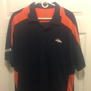 Reebok Denver Broncos Polo Shirt
